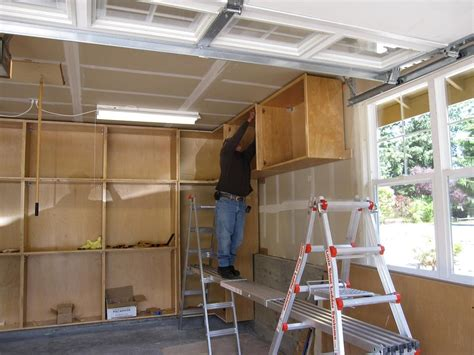 building plywood cabinets for garage wood garage plans cabinets garage cabinets and