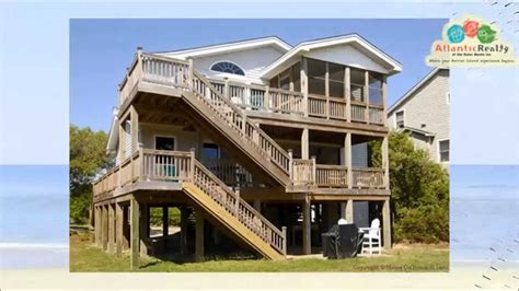 outer banks house rentals 323 carolina hideaway beach rentals outer banks vacation