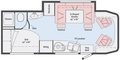 winnebago rv floor plans winnebago view profile class c rv dealer