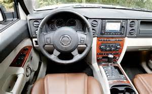 2006 jeep commander drive road test review