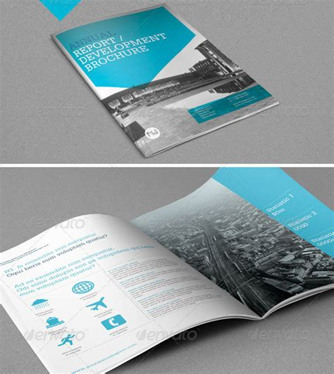 free annual report template free business template