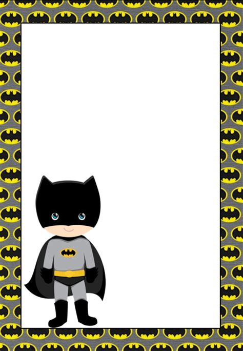 free batman template birthday card free printable batman invitations cards or labels oh
