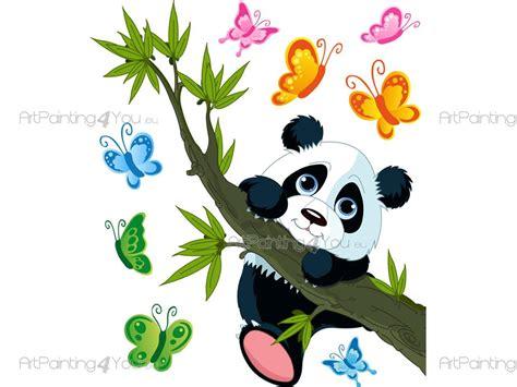 Zoo Animal Wall Stickers wandtattoo kinderzimmer pandab 228 r artpainting4you eu
