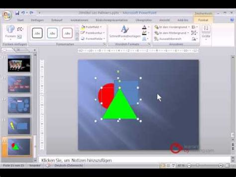 tutorial powerpoint deutsch powerpoint pr 228 sentation tutorial deutsch objekte