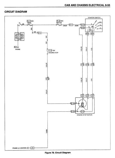 wire diagram isuzu ftr repair wiring scheme