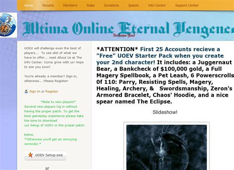 best ultima server ultima eternal vengence ultima gaming