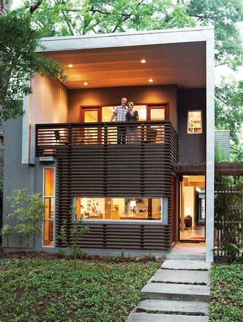 la tiny house home design garden architecture blog 50 fachadas de casas estreitas inspiradoras