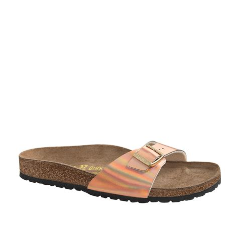 j crew gold sandals lyst j crew s birkenstock metallic madrid sandals