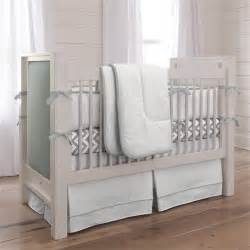 Modern Grey Crib Touch Of Color Cloud Gray 3 Crib Bedding Set