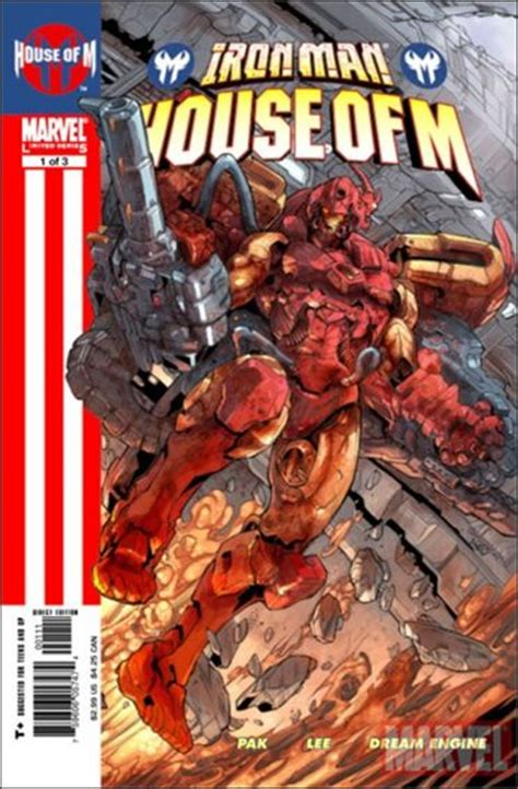 house of iron iron man house of m 1 a sep 2005 comic book by marvel