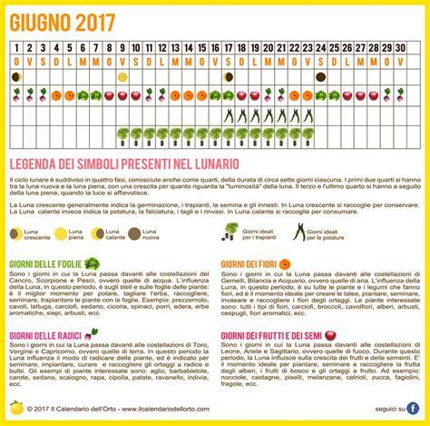 calendario semina fiori giugno semina orto e giardino calendario lunare 2017
