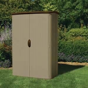 suncast 52cu ft large vertical shed bms4500 storage