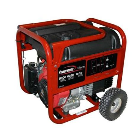 powermate 5000w generator 395 shipped at home depot reg