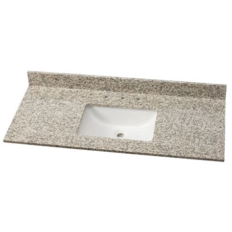 home decorators collection 49 in w granite single vanity