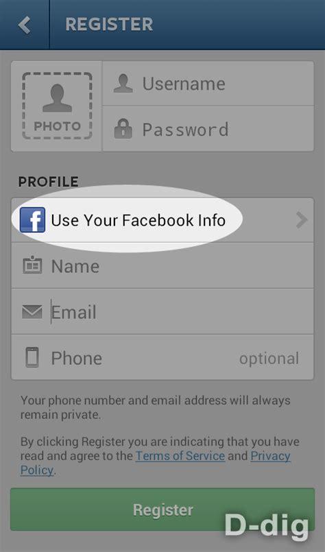 cara membuat akun facebook di android bagaimana cara mendaftar membuat akun di instagram