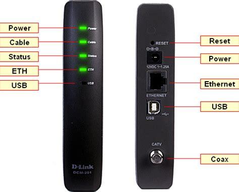 spectrum modem online light blinking cable modem troubleshooting d link dcm 201