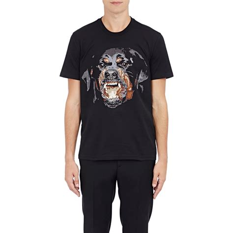 rottweiler t shirt givenchy givenchy rottweiler embroidered t shirt in black for lyst
