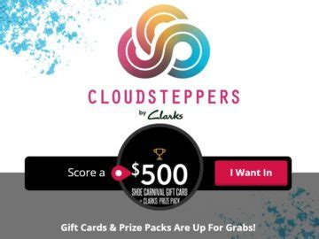 Shoe Carnival Gift Card - shoe carnival gift card plus clarks prize pack sweepstakes