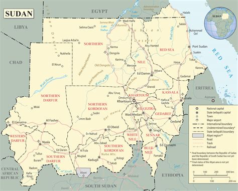 map of sudan map of sudan travel africa