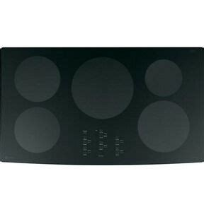 ge profile electric cooktop 36 ge profile 36 electric induction cooktop black php960dmbb