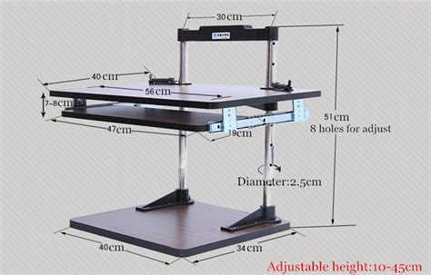 Desk Elevator by New Design Elevator Computer Desk Padded Laptop Elevator