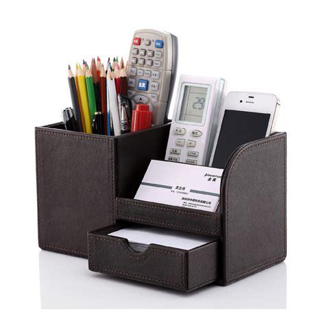 Leather Desk Organizer Reviews Online Shopping Leather Desk Stationery Organizer