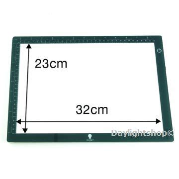 Wafer 350 Gram daylight a4 wafer 1 led light box e35040