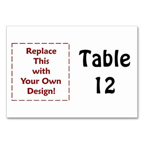 make your own card uk create your own custom personalised table cards zazzle