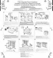Bosch Dishwasher Installation Guide Bosch Shv45m03uc Fully Integrated Panel Installation