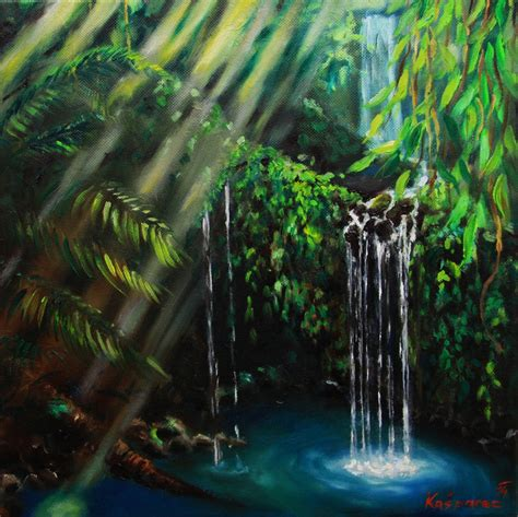 jungle painting jungle peacefulness painting