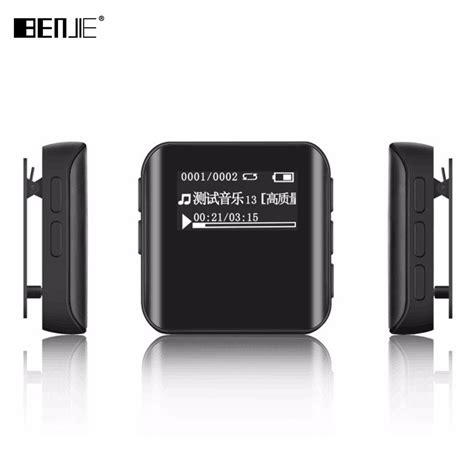 newest benjie k10 mini clip sports mp3 player portable mp3