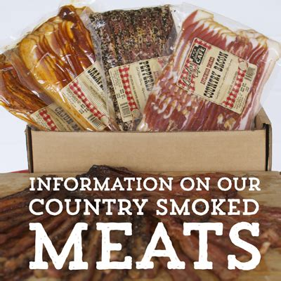 information on our meats