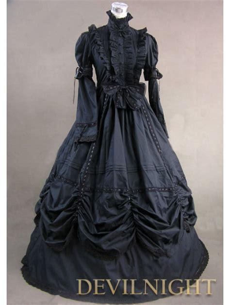 Dress Moster Dress Black black high collar classic dress
