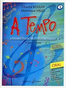 0043074804 a tempo partie ecrite formation musicale boutique