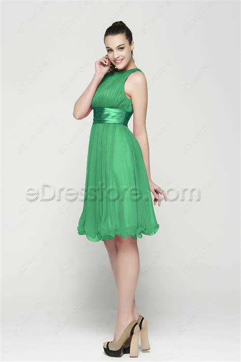 Dress Green Tea modest green tea length homecoming dresses