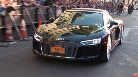 Audi A8 Spider by 2018 Audi A8 At The Spider Man Homecoming Premiere Youtube