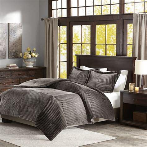 corduroy comforters parker corduroy grey comforter set full queen