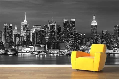 new york landscape wallpaper black and white yeni sezon şehir temalı duvar kağıdı g 246 rselleri dekor