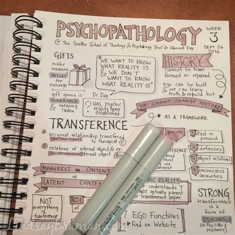 doodle notes doodle notes psychopathology class 3 lindsaybraman