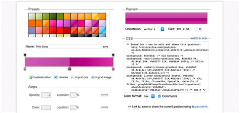 css colors tools powerful css tools for web designers developers web