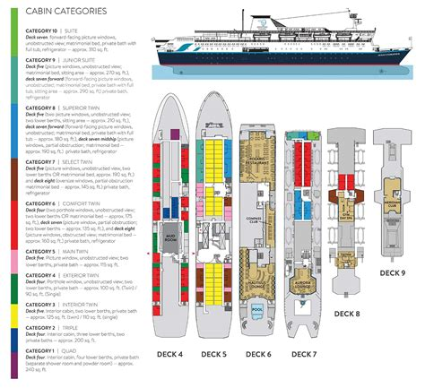 Adventure Of The Seas Floor Plan adventure canada newfoundland and wild labrador 2015