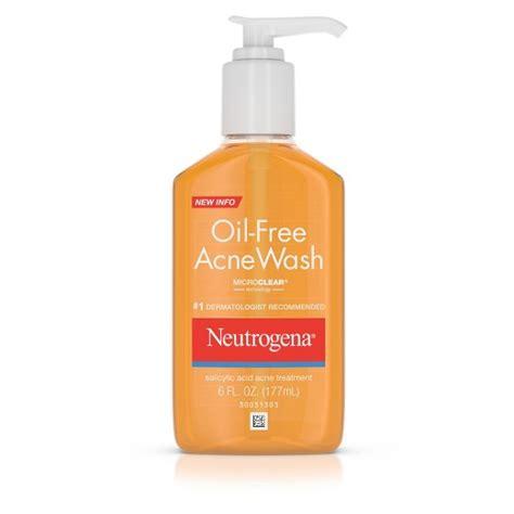 Acnes Wash Neutrogena 174 Free Acne Wash 6 Oz Target