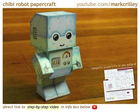 Papercraft Robot - chibi robot papercraft by markcrilley on deviantart