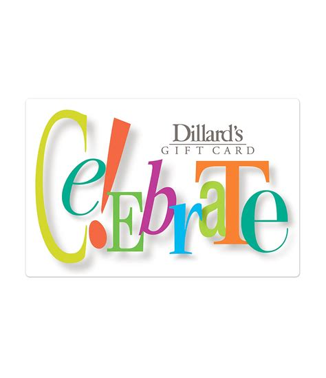 Dillards Gift Cards For Sale - celebrate gift card dillards
