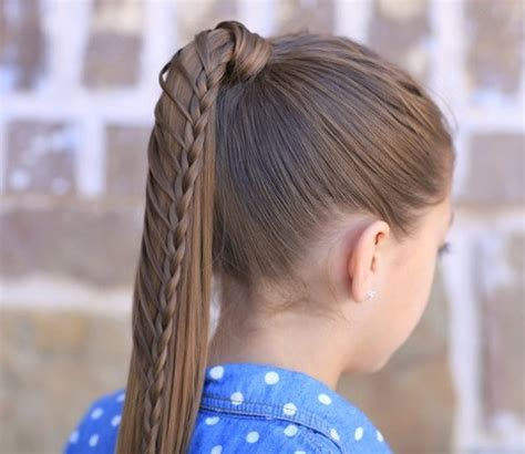 little girl hairstyles in ponytails so pretty little girl ladder ponytail hairstyles 2015 2016