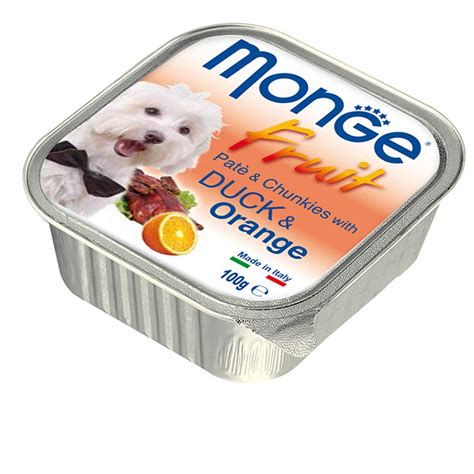 Monge Fruit Duck And Orange 100 G pat 233 and chunkies with duck and orange