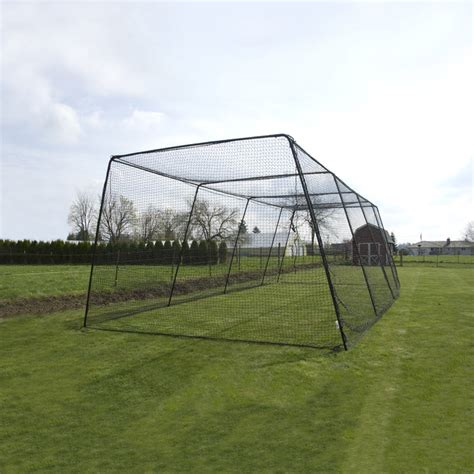 how to build a batting cage in your backyard free standing batting cage system bata baseball softball