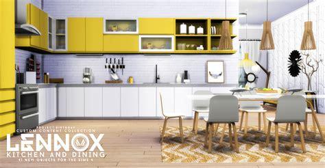 sims  blog updated lennox kitchen  dining set