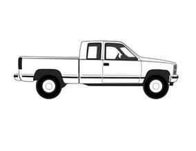 Truck Outline by Vehicle Outlines Rod Forum Hotrodders Bulletin Board