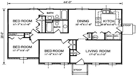 1200 sq ft bungalow house plans with porches bungalow floor plans